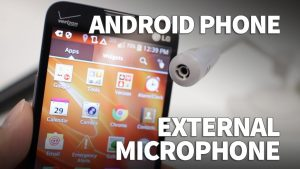microphone on Android