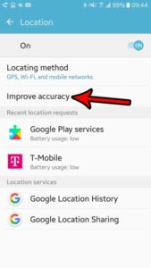 guide to disable wifi scanning