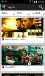 Movietube Appon Android