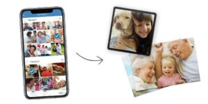 send photos from android to Walgreens.