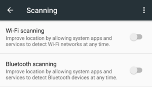 Wifi Scanning on Android 6.0.1