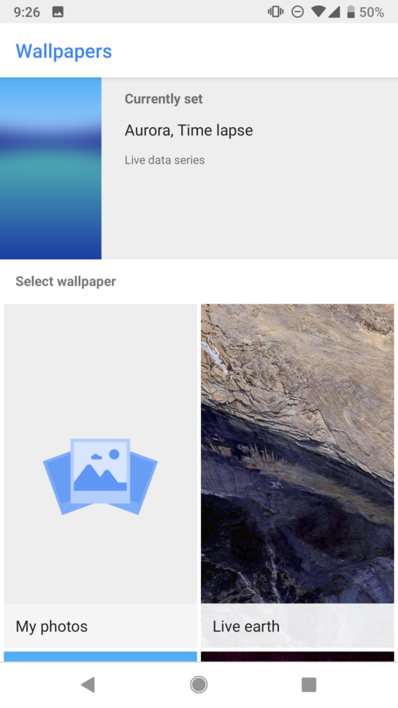 Solved No Live Wallpaper Option Android Solved