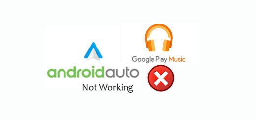 android auto not working with s7