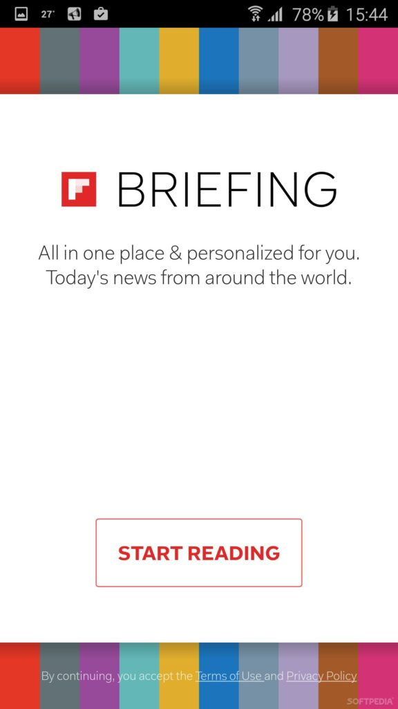 Briefing app on Android