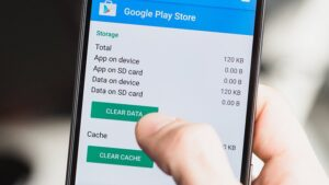Clear the app's storage on Android phone