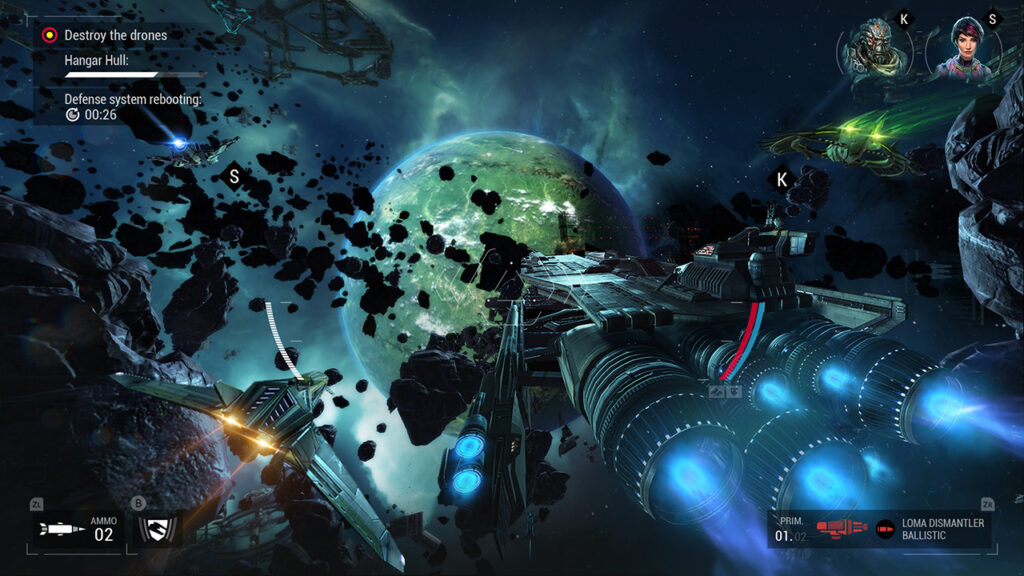 Galaxy on Fire 3 game on Android