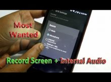 Internal Audio Recording Is Not Allowed by Android Now