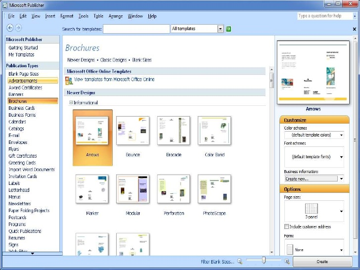 Microsoft Publisher app for Android