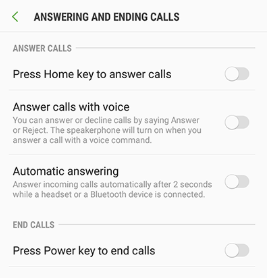 To enable Answer Android Phone Without Swiping in latest versions