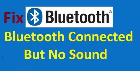 bluetooth connected but no sound android