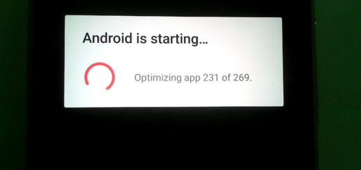 Android is starting optimizing app loop
