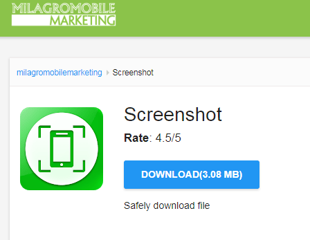 Screenshot app