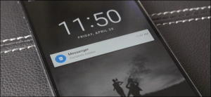 how to show text messages on lock screen android