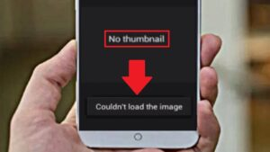 Why thumbnail cannot be displayed on Android gallery